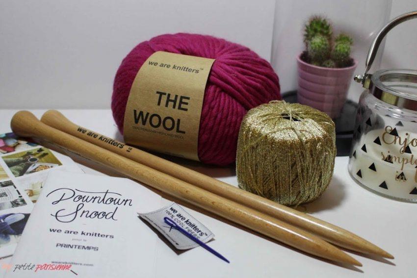 We are Knitters X Le Printemps: La collab qui peps ton hiver