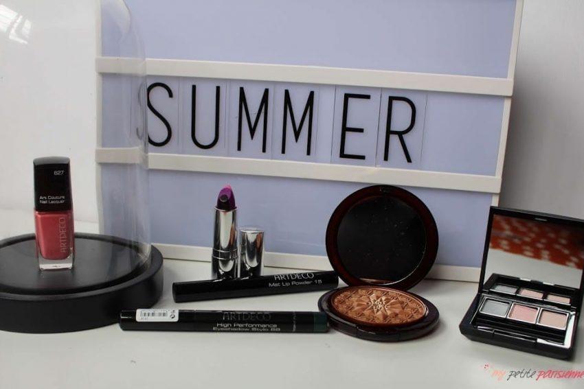 Maquillage d'été avec Artdeco (Partie 2)