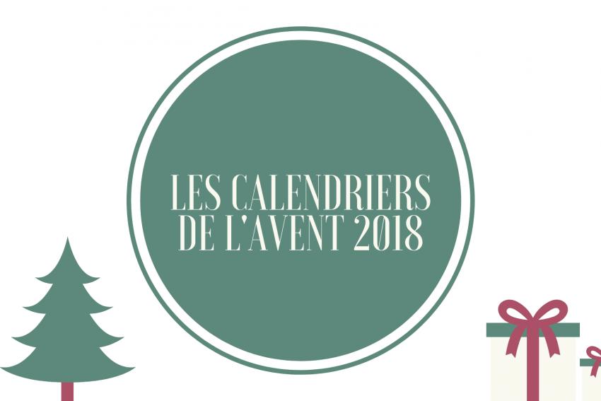 Les calendriers de l'avent 2018 : La sélection beauté