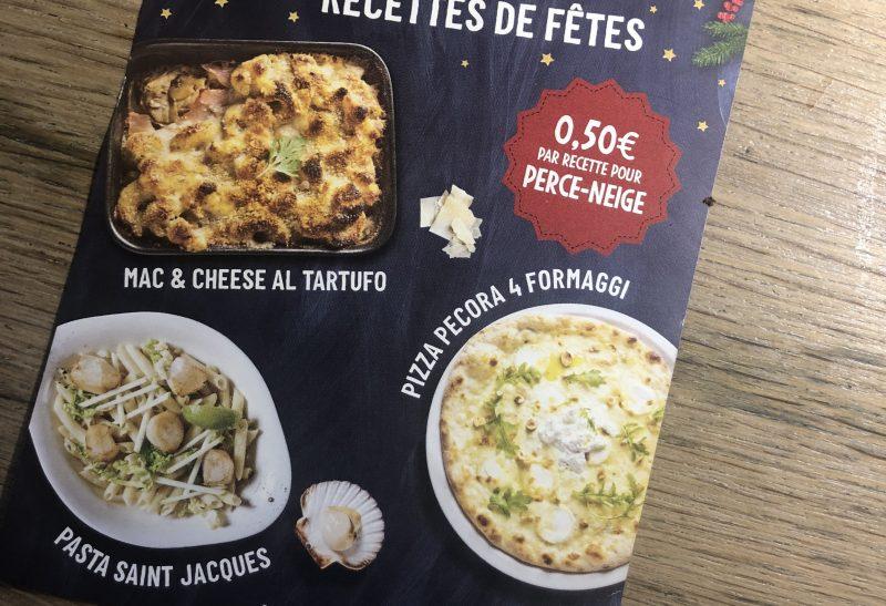 Les éditions limitées des fêtes chez Vapiano
