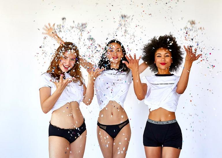 Mon avis sur la culotte menstruelle Sisters Republic