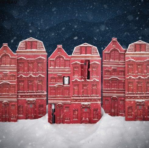 calendrier de l'avent pour Noël 2020 de la marque Rituals en 2D