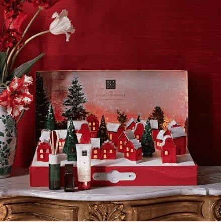 calendrier de l'avent en 3D de la marque Rituals pour Noël 2020