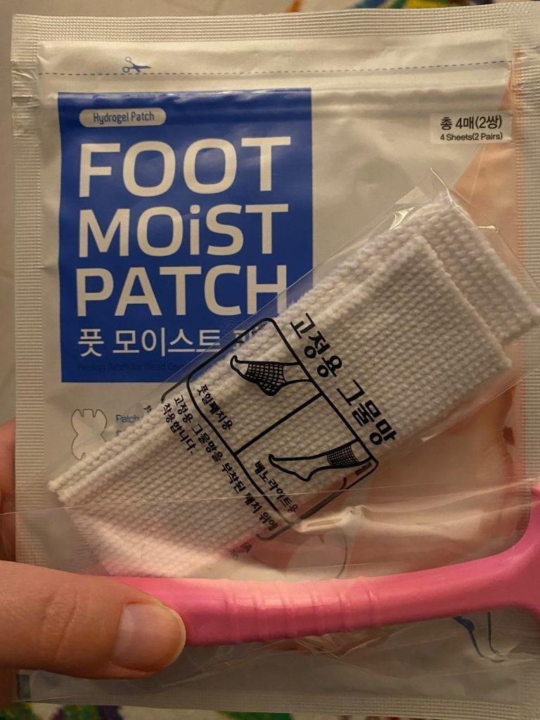 kit masque pied