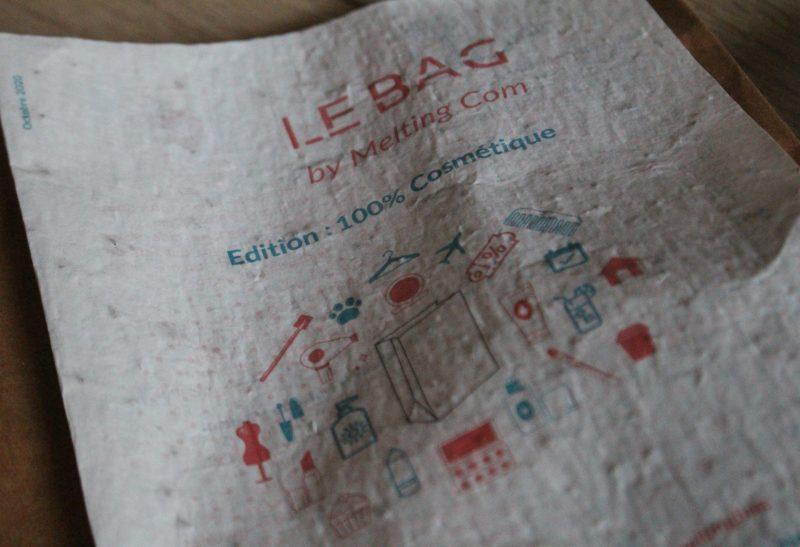 Melting bag: Un bag bio pour découvrir de nouvelles marques